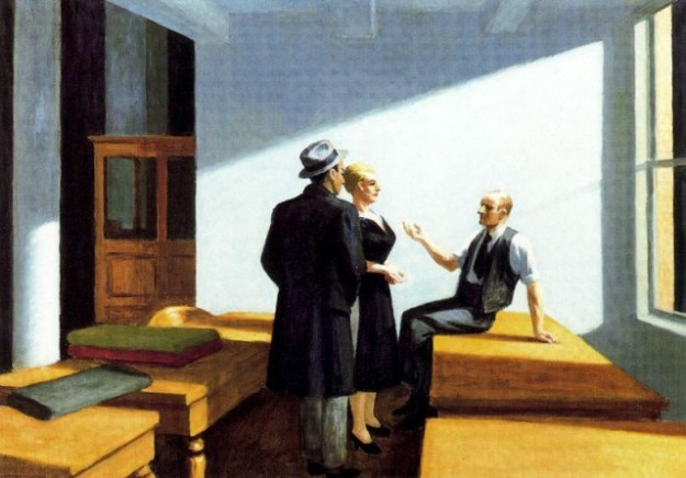 Conversación noctura - Edward Hooper